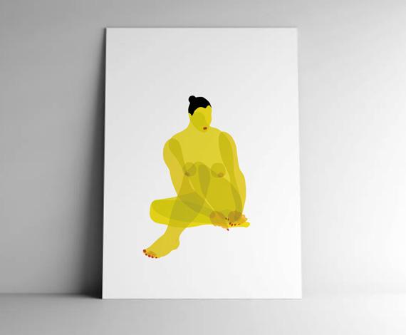Studio bum » nudo u2013 trasparenze in giallo